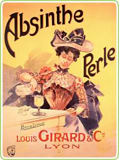 The original way to drink absinthe